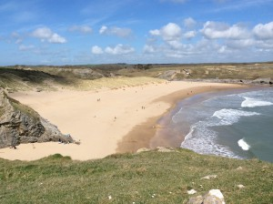 Broad Haven South at its best.