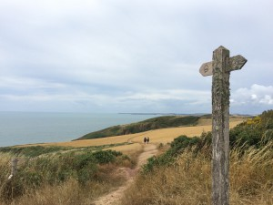 Pembrokeshire Coast Path with fantastic views