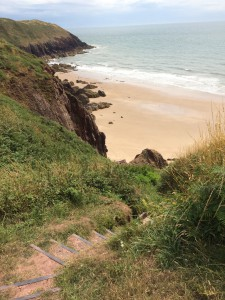 Keep fit by walking the Pembrokeshire Coast Path